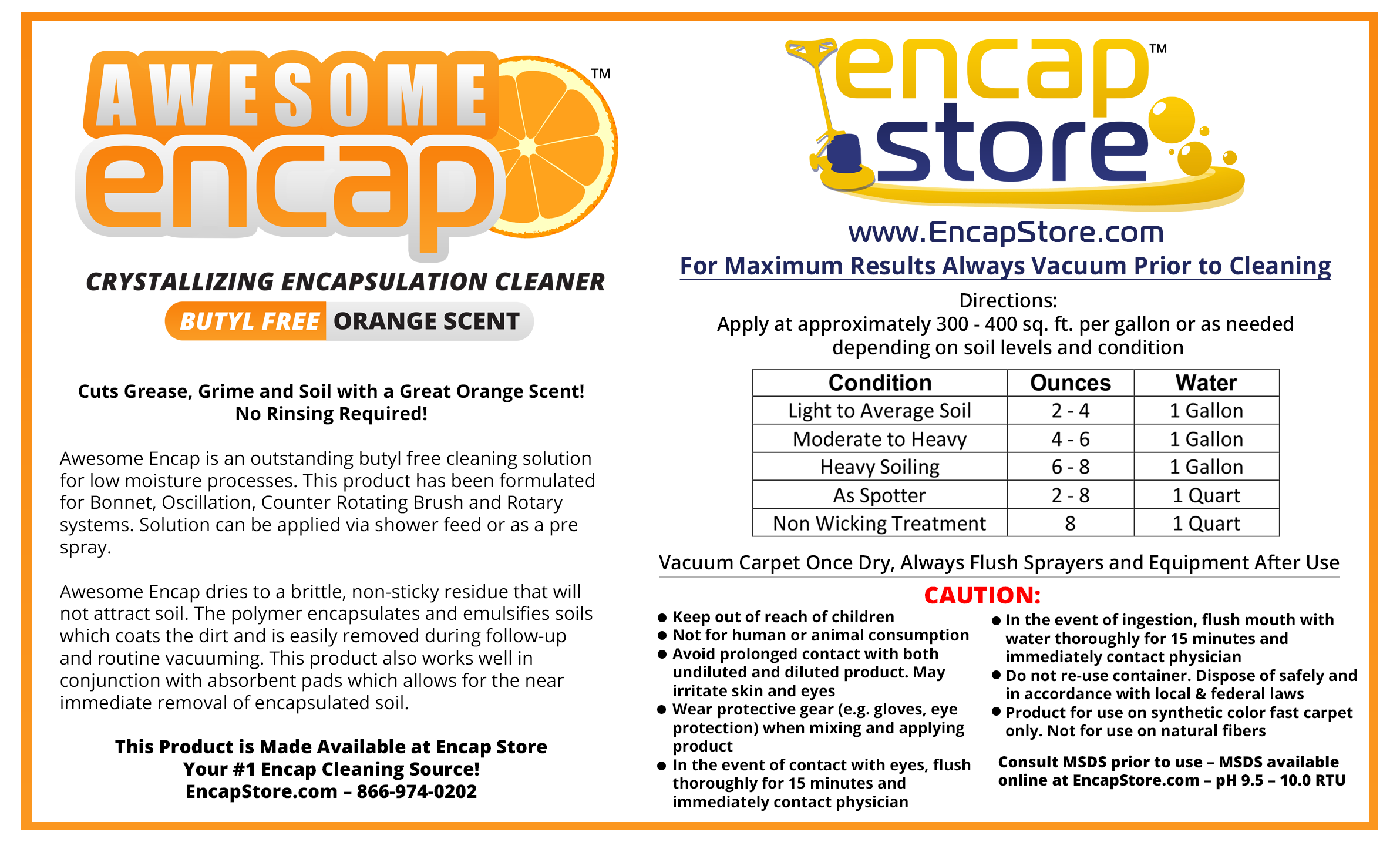 Awesome Encap Label Actual Size Big V2-2